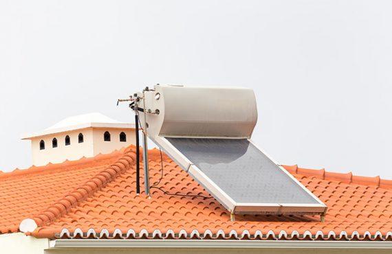 Impianto solare termico riscaldati con il sole